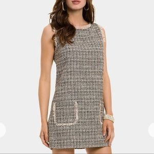GUESS by Marciano   AUDREA TWEED SHIFT DRESS